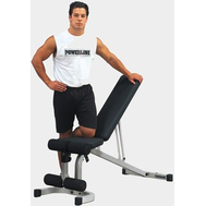 Универсальная складная регулируемая скамья - BODY SOLID POWERLINE PFID130, пресс, жим на свободных весах, фото 1