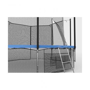 Большой батут с защитной сеткой UNIX LINE 12ft INSIDE Синий, фото 7